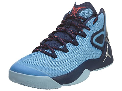 Nike Jordan Men's Jordan Melo M12 Unvrsty Bl/Mtllc Slvr/Mdnght N Basketball Shoe 9 Men US