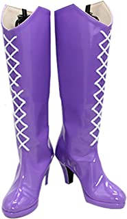 Whirl Cosplay Boots Shoes for Sailor Moon Sailor Saturn