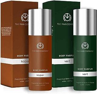 The Man Company Non-Gas Body Perfume Combo Set for Men   Kopar and Vert No Gas Deodorant For Men   Premium Long Lasting Fr...