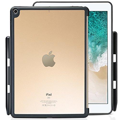 ProCase iPad 9,7 inch hoes, beschermhoes achterkant met Apple stifthouder voor iPad 9,7 inch 2018, iPad 6 generatie/2017, iPad 5 generatie, geschikt voor Apple Smart Cover iPad 9.7