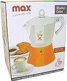 Max Casa–Blanka Color Espressokocher 3tazze bunt