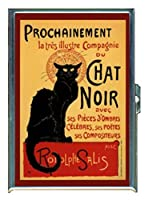 tournee-du-chat-noir 1896ステンレススチールIDまたはCigarettesケース( Kingサイズまたは100mm )