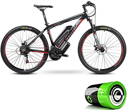 Review Of LLMLCF Hybrid Mountain Bike, Adult Electric Bicycle Detachable Lithium ion Battery (36V10A...