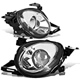 Pair Chrome Housing Projector High Beam Headlight Lamps Compatible with SC300 / SC400 Z30