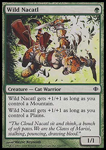 Magic The Gathering - Wild Nacatl - Shards of Alara