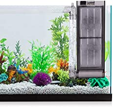 hygger 2-5 Gallon Fish Tank Filter Air Driven Small Aquarium Filter for Betta Fish Shrimp Tank (No Air Pump)
