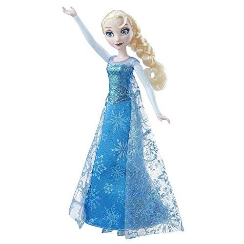 Hasbro Disney Die Eiskönigin B6173100 - Singende Lichterglanz ELSA, Puppe