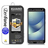 Asus Zenfone 4 Max Plus & Pro ZC554KL – Protezione schermo in vetro temperato iGUARD Premium Anti urti e rottura, durezza max 9H, alta definizione 98%, colore: trasparente