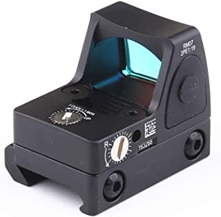 HAOYUN Spirit Tactical RMR Adjustable Reflex Red Dot Sight 3.25 MOA Scope for Hunting Fit 20mm Weaver Rail and Airsoft Glock Pistol