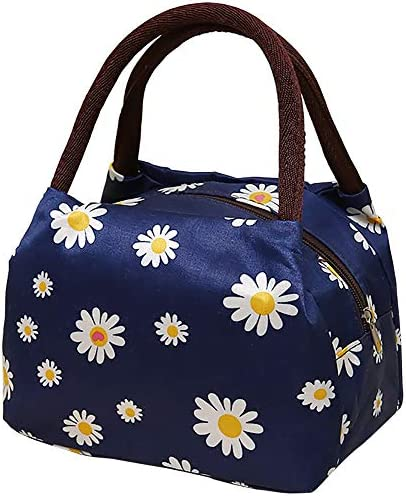 Lunch Bag for Women Instant Lunch Bag Large Tote Bag A Navy product image