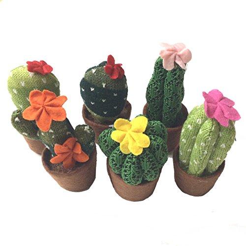 Cactus Décoratif tricoté - Petit