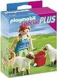Playmobil Especiales Plus - Recolectora con ovejas (4765) - Recolectora con ovejas, Playsets de Figuras de Juguete, 10 x 3,5 x 12,5 cm, (4765)