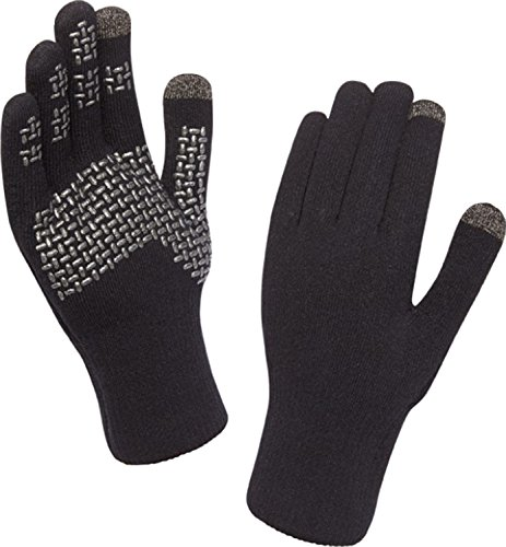 SealSkinz(シールスキンズ) 完全防水手袋 Ultra Grip Touchscreen Glove ブラック 1211516 001 L