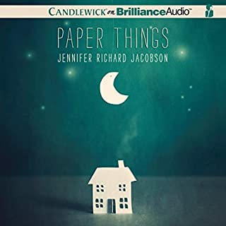 Paper Things                   By:                                                                                                                                 Jennifer Richard Jacobson                               Narrated by:                                                                                                                                 Kate Rudd                      Length: 7 hrs and 4 mins     57 ratings     Overall 4.5