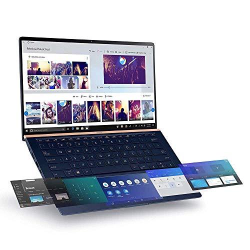 ASUS ZenBook UX434FLC 14' Full HD Thin Laptop (Intel i5-10210U, NVIDIA GeForce MX250 2 GB Graphics, 8 GB RAM, 256 GB SSD, ScreenPad 2.0, Windows 10)
