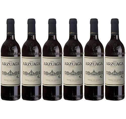 Vino Tinto Arzuaga Crianza - D.O. Ribera del Duero - 6 botellas x 75cl