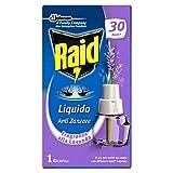 Raid Liquido Elettrico Ricarica Antizanzare Lavande Ricarica, 21ml