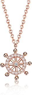 Best rose gold valentines necklace Reviews