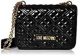 Love Moschino Jc4000pp1a, Borsa a Tracolla Donna, Nero (Nero), 9x20x27 cm (W x H x L)