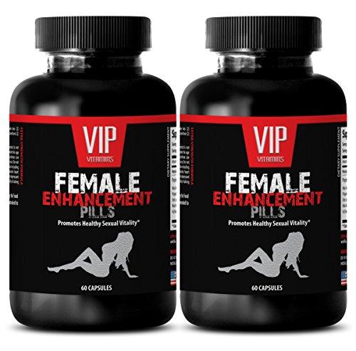Female libido Vitamins - Female Enhancement Advanced Formula 1560G - L-arginine Best Naturals - 2 Bottle (120 Capsules)