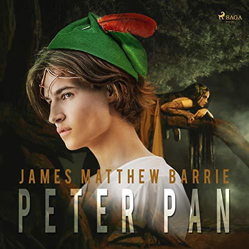 Diseño de la portada del título Peter Pan