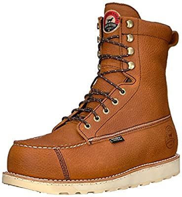 """Irish Setter Men's Wingshooter Safety Toe 8"""" Work Boot, Brown, 9 D US"""