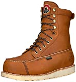 Irish Setter Men's Wingshooter Safety Toe 8' Work Boot, Brown, 9.5 2E US