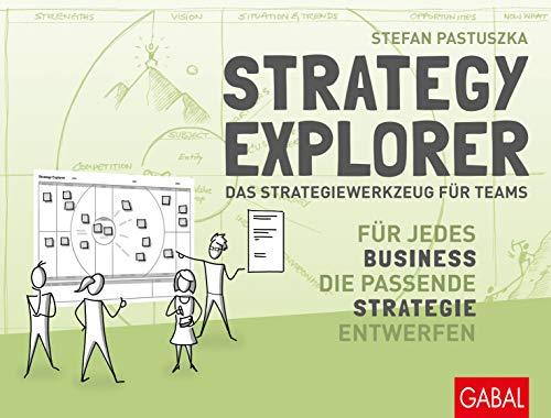 Strategy Explorer - das Strategiewerkzeug für Teams: Für jedes Business die passende Strategie entwerfen