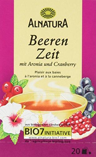 Alnatura Bio Tee Beeren-Zeit, 6er Pack (6 x 40 g)