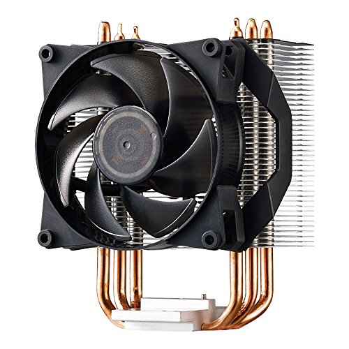Cooler Master, Ventola per CPU nero Hyper T2 2 Heat Pipes