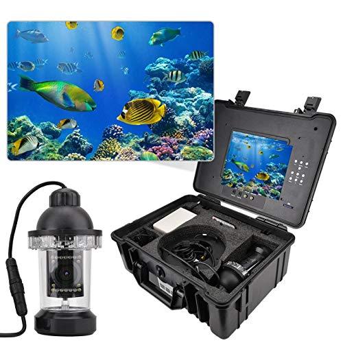 FOLOSAFENAR con batería de Respaldo, buscador de Peces, cámara de Control Remoto con Pantalla de 7 Pulgadas, para Pesca en el(European regulations)