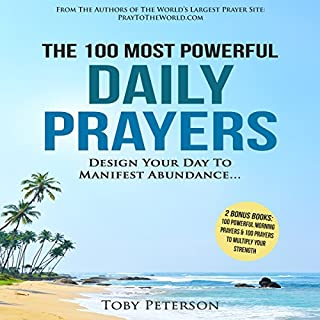 The 100 Most Powerful Daily Prayers audiobook cover art
