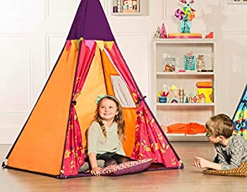 B Toys – Play Tent for Kids – Indoor Tent with Lights – Removable Lantern – Easy Assembly – Colorful Playhouse – 4.5 Feet Tall – 3 Years +