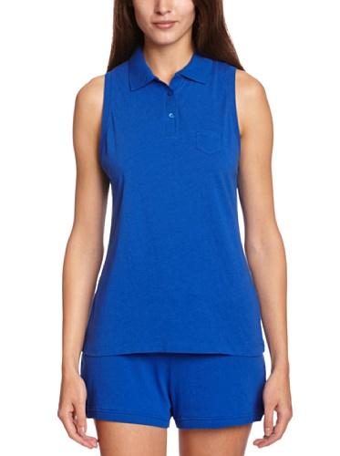 Princesse Tam Tam Damen Fashion T-Shirt Gr. 32, Blau - Blau (Eclipse Blue)