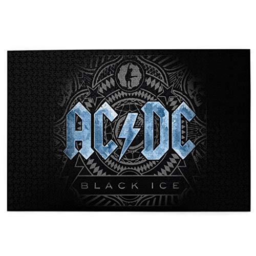 Cute Doormat Ac DC - Rompecabezas para adultos (1000 piezas, 1000 piezas)