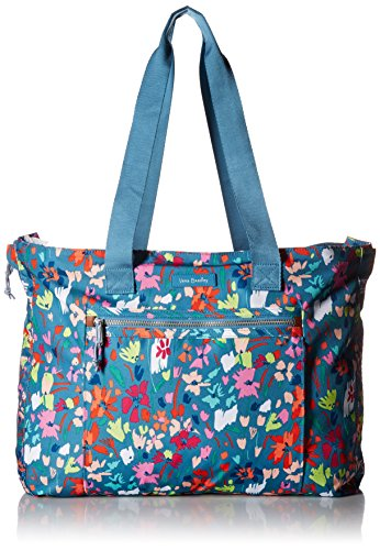 Vera Bradley Lighten Up Expandable Tote, Superbloom Sketch