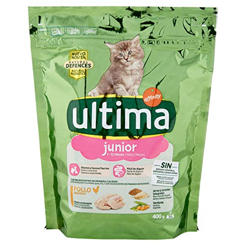 Ultima Cat Junior Pollo, 400g