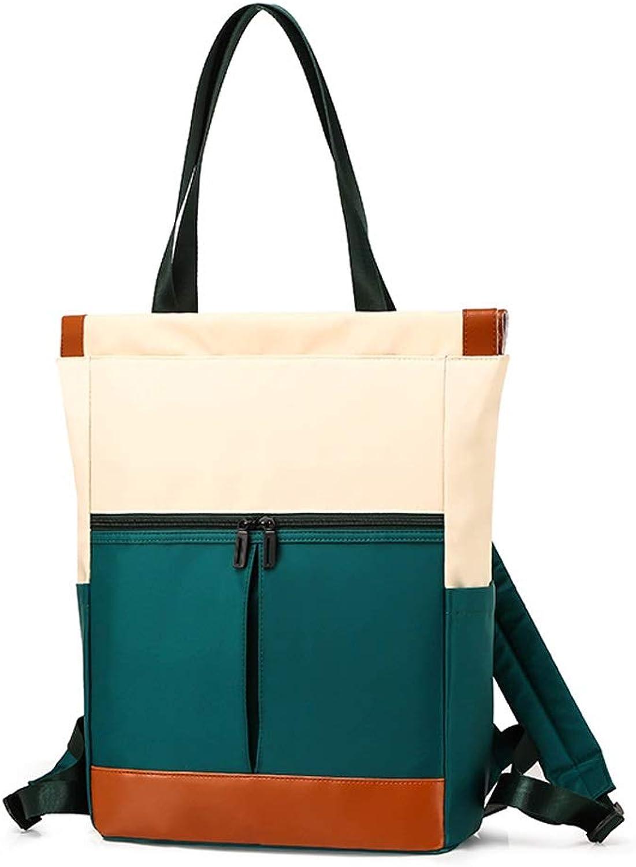 484b9dab4 Hand Bag for Women LargeCapacity Wild Shoulder Bag Waterproof Nylon Cloth  Bag Light Outdoor Messenger Bag MultiFunction 4 colors Optional (color  Green, Size ...
