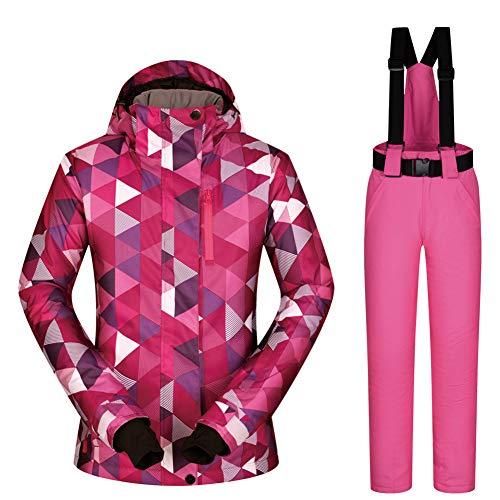 HQEFC dames ski-pak jas waterdicht winddicht warm dames jas winter snowboarden pak sneeuwdicht outdoor sport jas