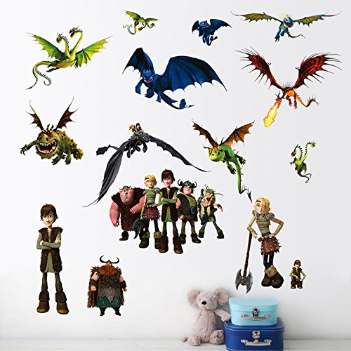 How to train your dragon wall stickers by Perfect Charms