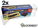 2x Schutzhülle für The C64 Mini/ Box Protector für Commodore 64 Mini 0.5 mm STÄRKE...