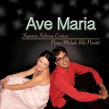 Ave Maria By Schubert, Saint-Saens, Tosti, Faurè, Panitti, Cherubini, Caccini, Verdi, Gounod - For Soprano and Piano