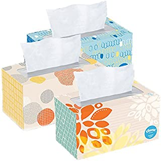 Kleenex Tissues 2-ply, 230 Count, Pack of 3, 690 Facial Tissues Total