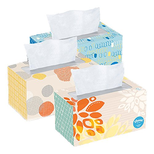 Kleenex Tissues 2ply 230 Count Pack of 3 690 Facial Tissues Total