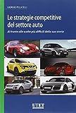 Le strategie competitive del settore auto di fronte alle...