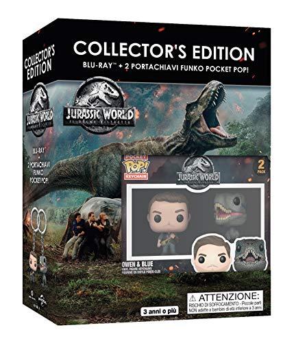 Jurassic World: Il Regno Distrutto - Funko Set (2 Mini Funko) ( Blu Ray)