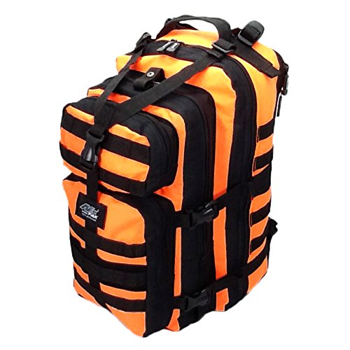 "19"" 2400cu.in. Tactical Hunting Camping Hiking Backpack ML118 NO (Orange)"
