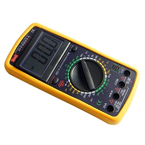 großes Multimeter Voltmeter Amperemeter Ohmmeter Digital LCD Transistor AC DC Messgerät mit Schutzcover und Ständer