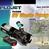RV Macerator Pump Septic Tank Dump Pump Portable RV Waste Pump (Storage Case Included)