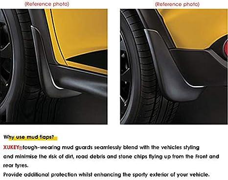 Schmutzf/änger Spritzschutzbleche vorne hinten Kotfl/ügel,H 8E 8P B6 B7 C6 Spritzschutzblech f/ür Audi A3 A4 A6 Kfz-Schmutzf/änger
